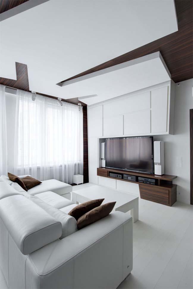 Modern apartment in Moscow by Vladimir Malashonok