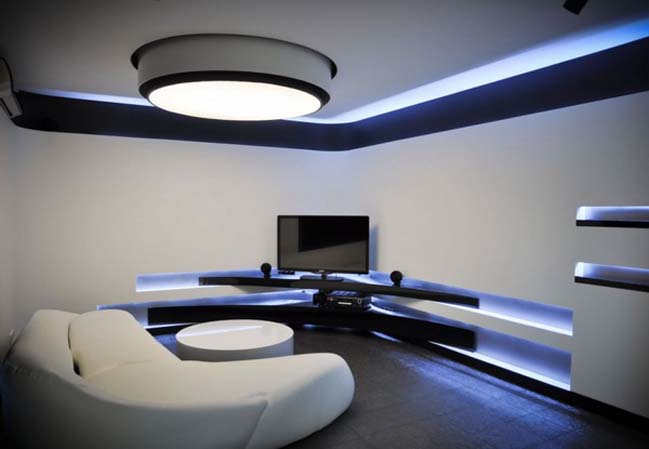 18 stunning futuristic living room designs
