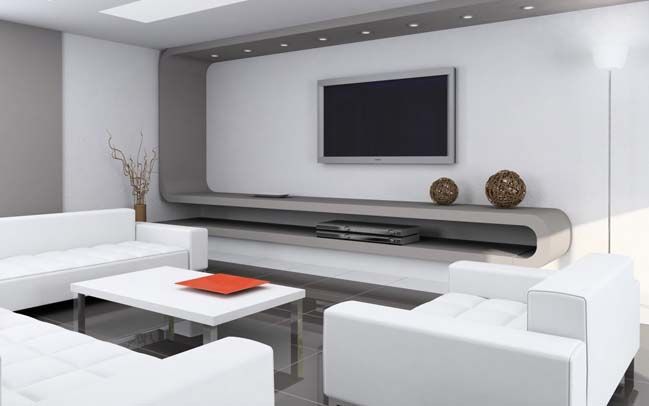 stunning futuristic living room designs