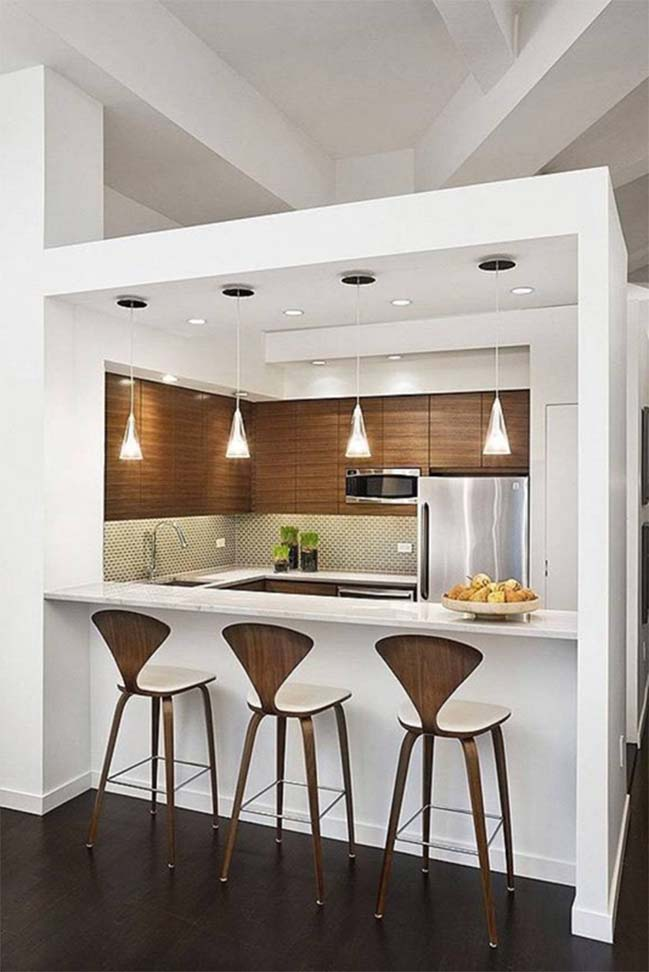 14 wonderful space saving small kitchen designs