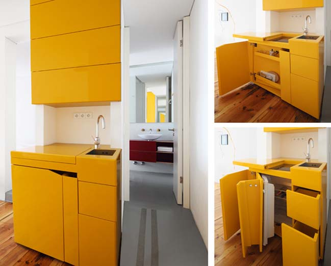 Space Saving Kitchen Design 14 Wonderful Space Saving Small Kitchen Designs