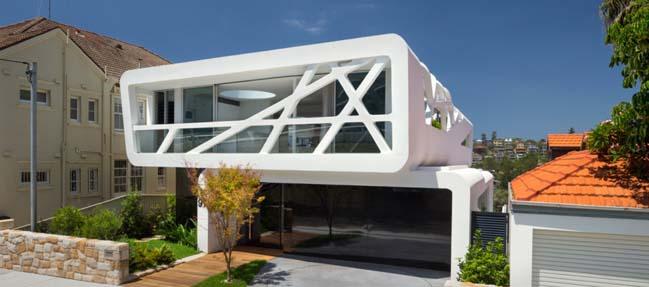 Hewlett Street: Modern villa by MHN Design Union