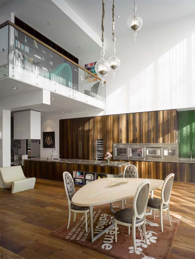 aldo house modern villa with an interior bamboo garden