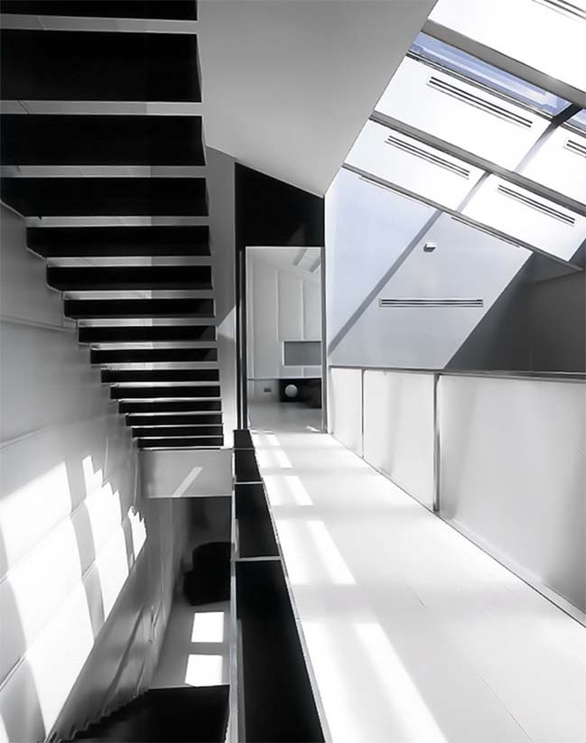 Three levels penthouse in St. Petersburg