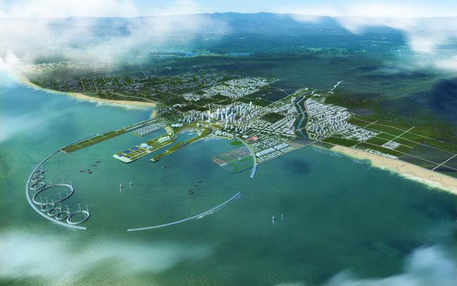 Qingdao Master Plan by Perkins + Will