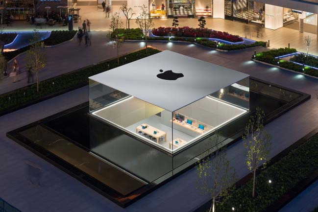 Apple Store in Zorlu by Foster + Partners