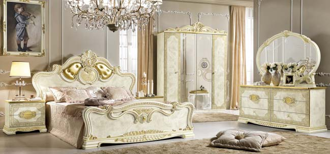 Leonardo bedroom design collection by Camelgroup