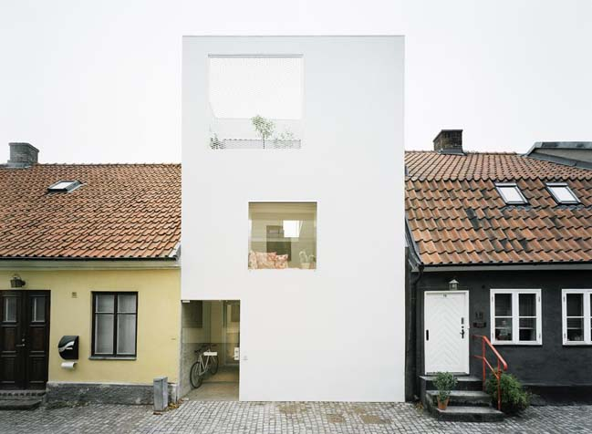 Townhouse in Landskrona by Elding Oscarson