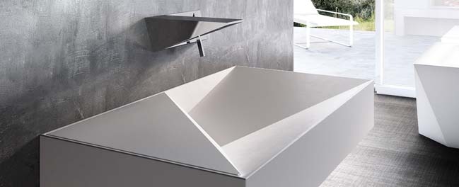 Diamond: Modern bathroom design by Giemmegi