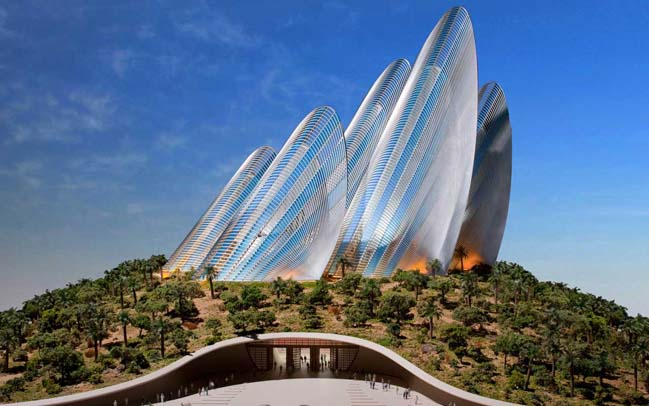 Zayed National Museum by Foster + Partners