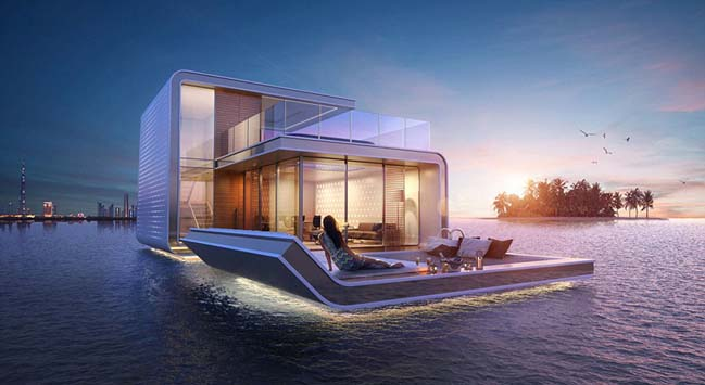 Floating Seahorse: Ultra luxury villa in Dubai