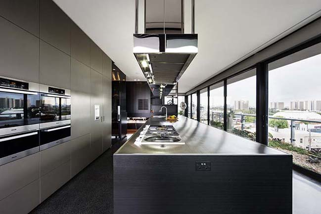 Luxury penthouse in Australia by Jam Architects on