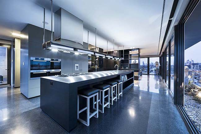 Luxury penthouse in Australia by Jam Architects