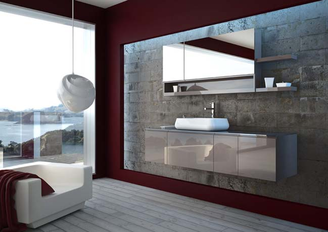 Niky collection modern bathroom designs from regia for Bathroom remodel 2015
