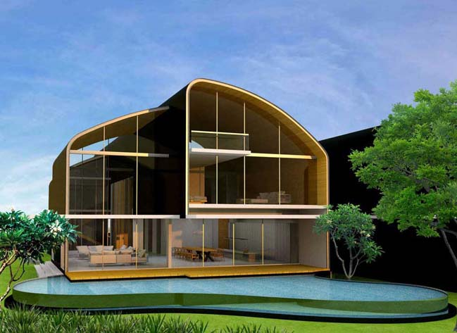 Why I and Why II: Luxury villas by Greg Shand Architects