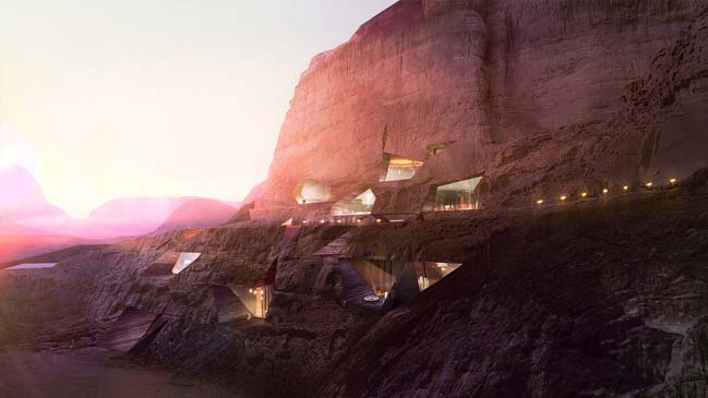 Luxury Wadi Rum Desert Resort by Oppenheim Archtiecture