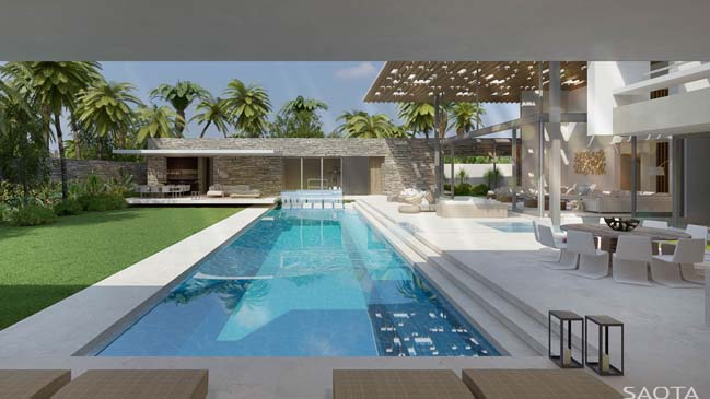 Luxury villa in Congo by SAOTA