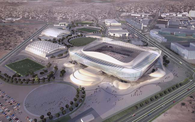 Al Rayyan Stadium by Pattern Architects