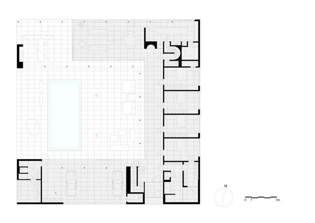 Villa V in T by Beel & Achtergael Architecten