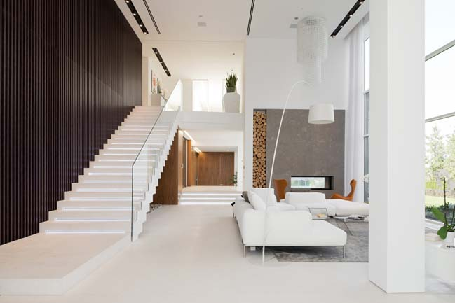 Luxury villa in Moscow by SL*Project