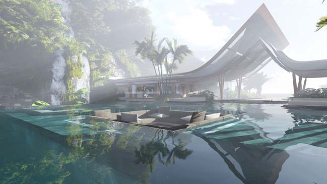 The Water Pavilion by Martin Ferrero Architecture