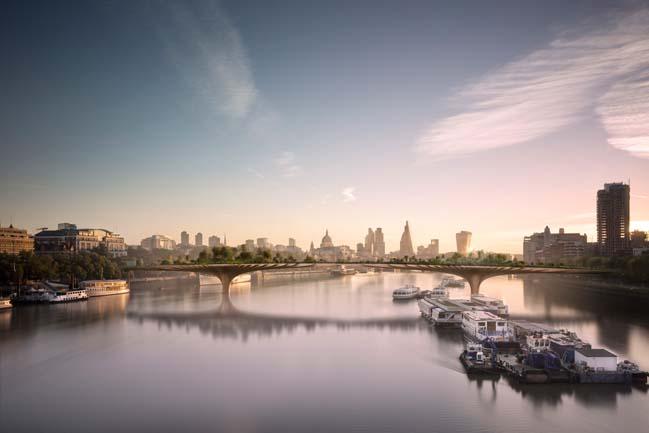 Garden Bridge in London