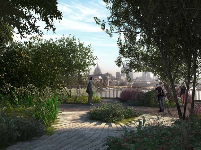 Garden Bridge in London