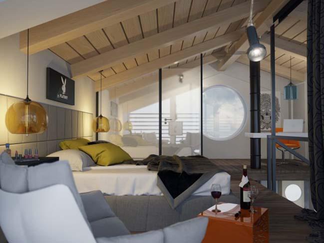 Olympus: Modern penthouse by Alexander Simakov
