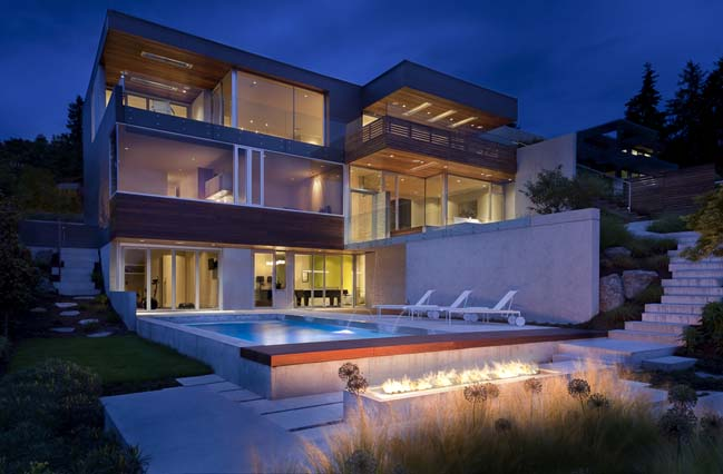Orchard way by mcleod bovell modern houses for Modern home design vancouver bc