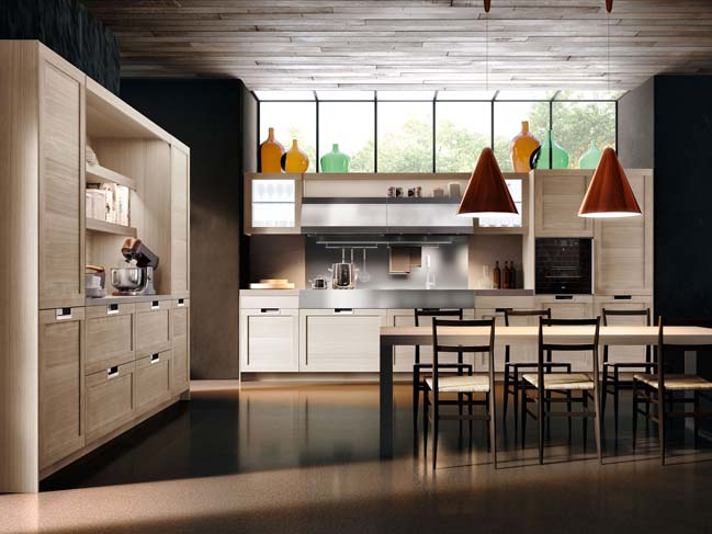 Lux Classic: Kitchen design by Pietro Arosio Design