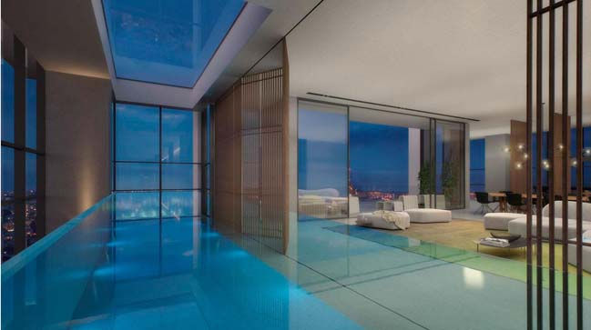 Water and Sky penthouse in Tel Aviv