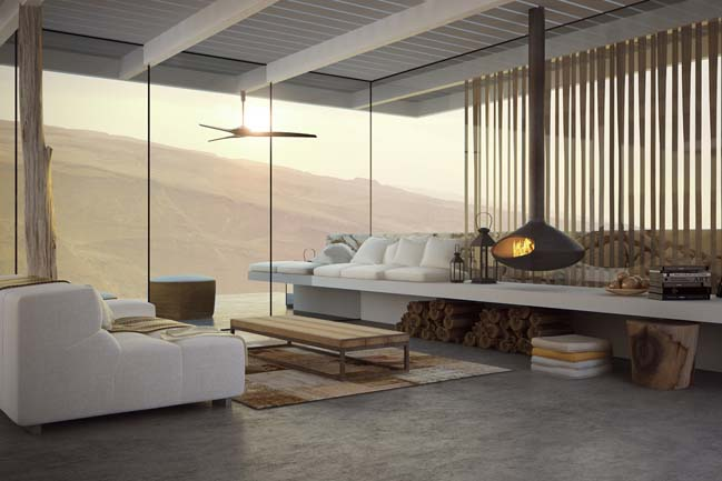 Desert Villa by Weinstein Vaadia Architects