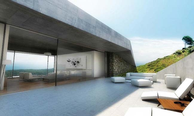Issa Grotto Hill House by Proarh