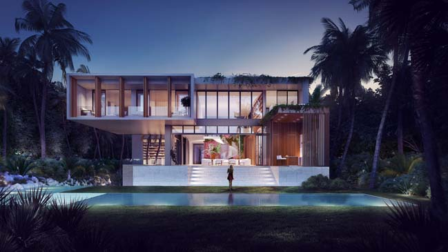 699 Ocean Blvd: Luxury villa in Golden Beach
