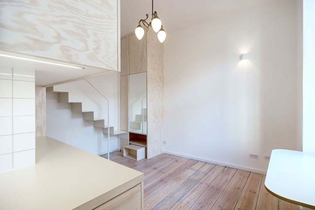 Micro apartment in Moabit, Berlin