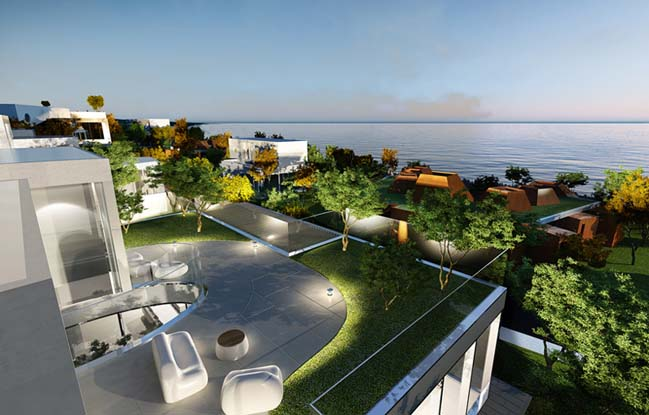 The Oval: Modern villa by Planning Korea