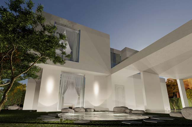 The Oval: Modern villa by Planning Korea