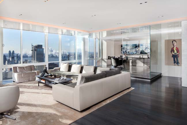 Upper West Side Penthouse in New York