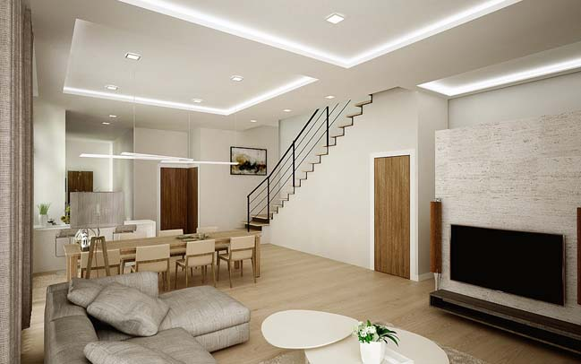 Interior design townhouse for Townhouse interior design ideas