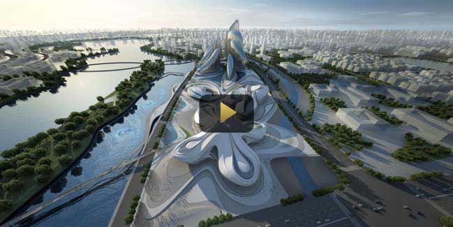 Video: Changsha Meixihu International Culture & Arts Centre
