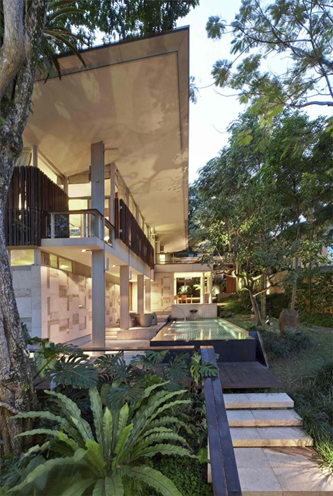 Bishopsgate House: Luxury villa in Singapore