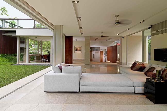 Bishopsgate House: Luxury villa in Singapore