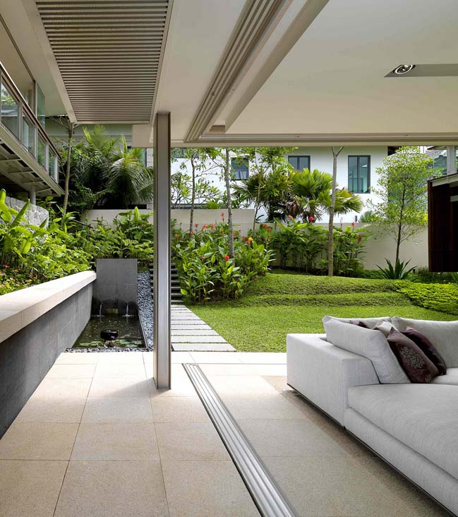 Bishopsgate house luxury villa in singapore - Maximizing design of living room by determining its needs ...