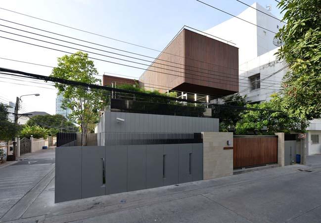 Joly House: Modern villa in Thailand