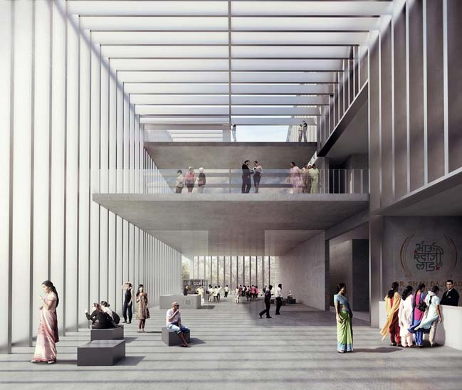 Mumbai City Museum by Nieto Sobejano Arquitectos