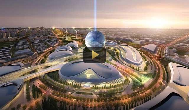 Video: Dubai Expo 2020 Master Plan