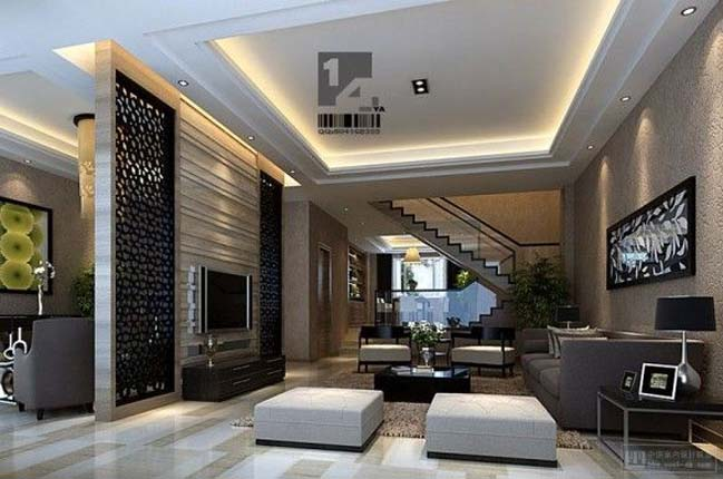 12 living room ideas with luxury modern interior design - Modern living room decoration ...