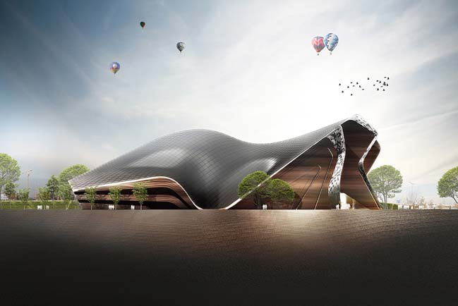 Apassionata: Futuristic architecture by Graft