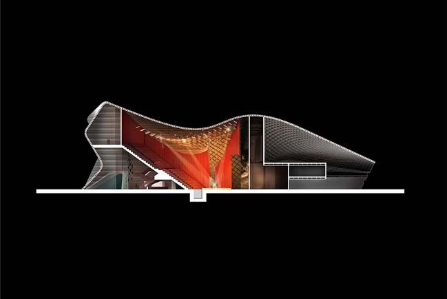 Apassionata: Futuristic architecture by Graft