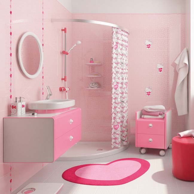 Gallery for pink bathroom ideas - Pink bathtub decorating ideas ...